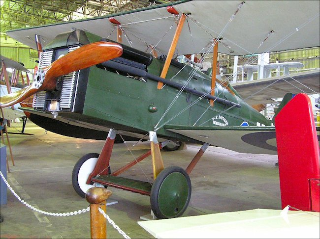 Surviving Restored Royal Aircraft Factory Se5a Ww1 Fighter