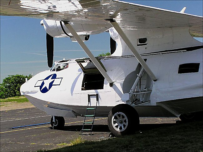 US Navy Surviving Catalina Flying boat anti-submarine bomber