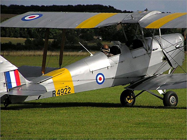 RAF de Havilland DH82 Tiger Moth Trainer
