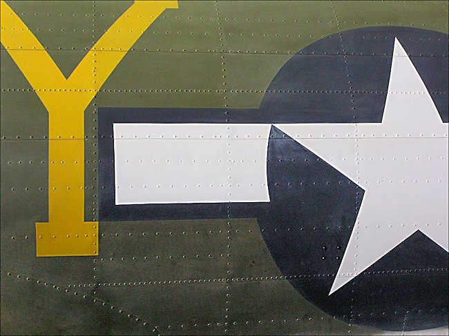 WW2 Boeing B17 Flying Fortress bomber markings