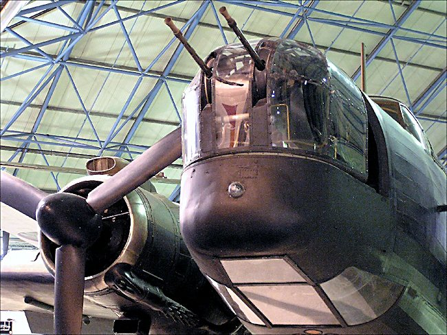 WW2 RAF Vickers-Armstrong Wellington Bomber