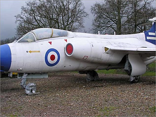 Blackburn Buccaneer S.1 Carrier Jet Bomber at Gatwick Aircraft Museum