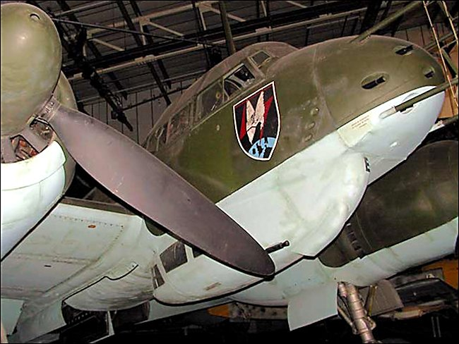 WW2 German Luftwaffe Junkers JU88 Medium Bomber and night-fighter