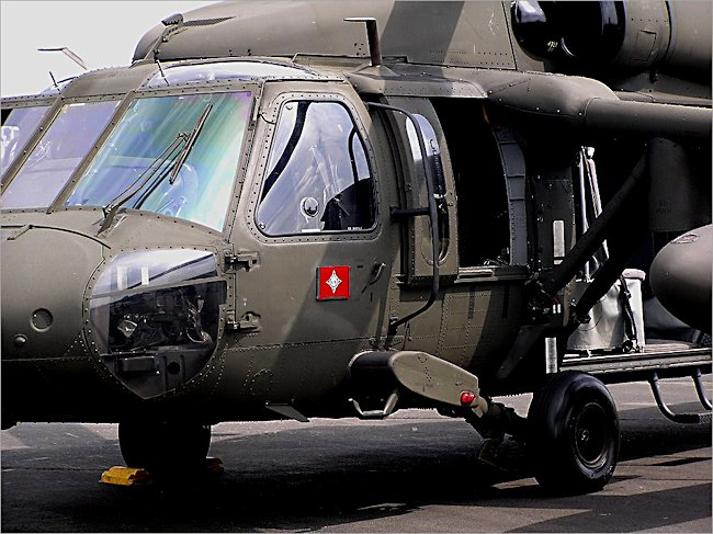 Sikorsky UH-60A Black Hawk US Military Multi Purpose Utility Helicopter