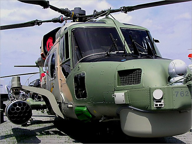 Westland Lynx Royal Navy Anti Submarine Helicopter