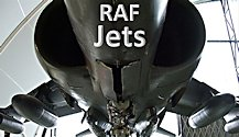 surviving cold war British RAF jets