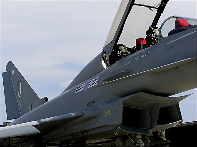 RAF Typhoon II eurofighter