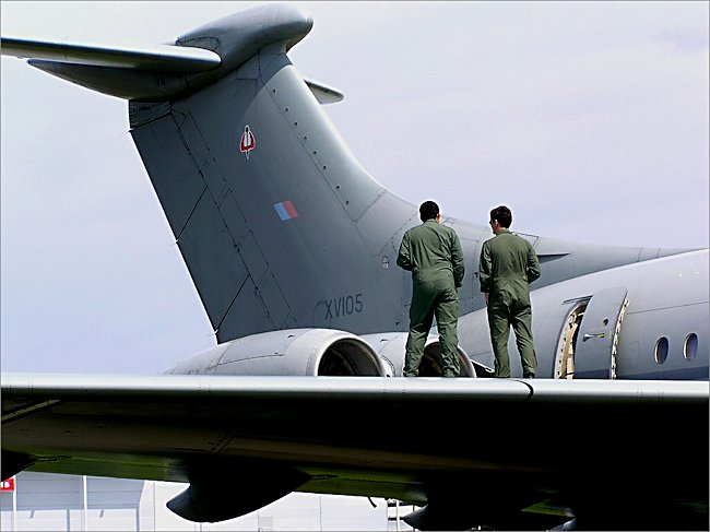 RAF Vickers VC10 Mk4 Transporter and Air-to-Air Refuelling Tanker AAR