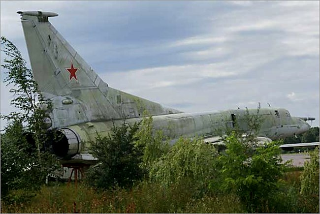 Soviet Russian Surviving Tupolev Tu-22M1 Jet Backfire Bomber