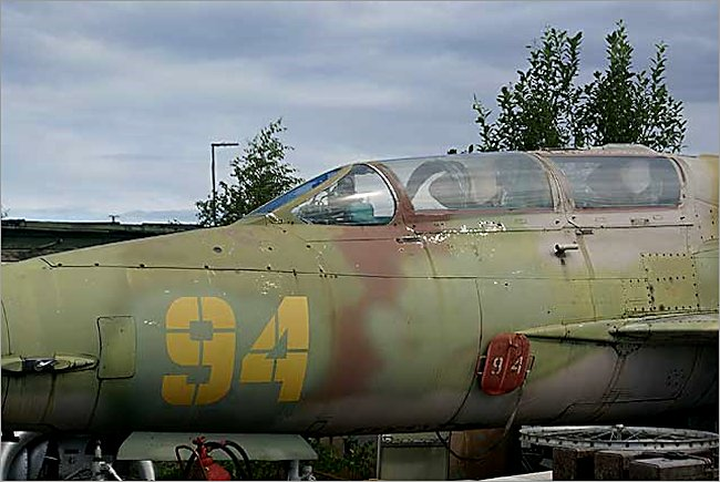 Mikoyan-Gurevich MiG-21UM Fishbed jet fighter trainer