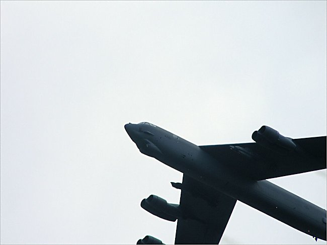 USAF Boeing B-52 Stratofortress Heavy Bomber has four rngines